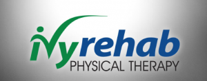 Ivy Rehab logo ans the text: Physical Therapy