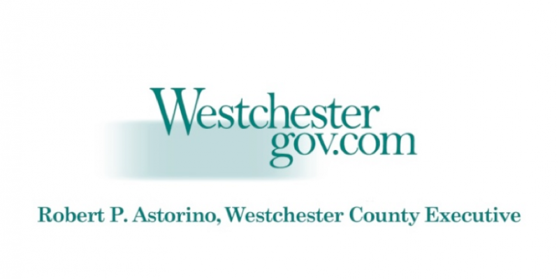 Image with the text Westchester gov.com. Robert P. Astorino, Westchester County Executive