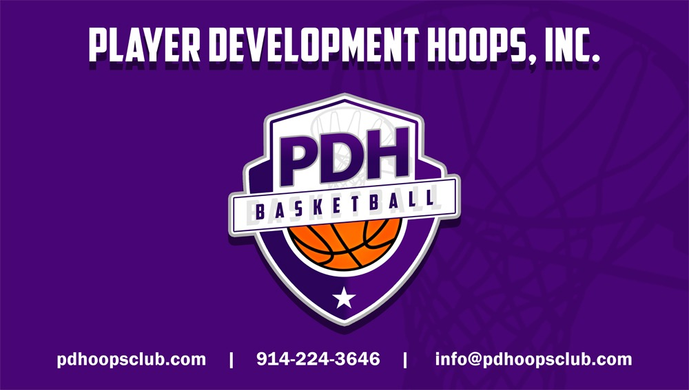 Player Development Hoops Basketball logo