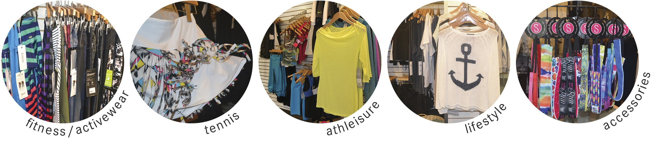 Athleisure Fitness Tennis Yoga Activewear Accessories