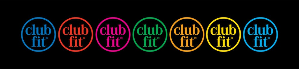 Colored clubfit logos
