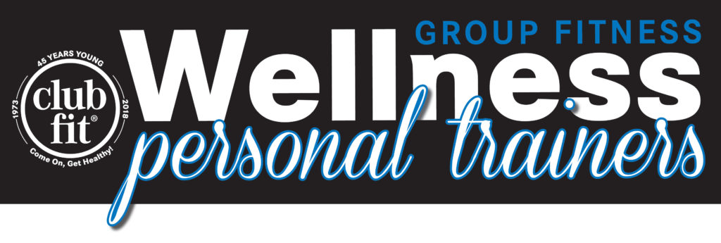 Text Wellness personal trainers with clubfit logo