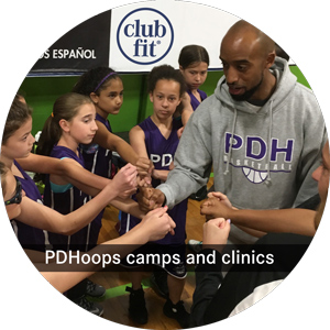 PDHoops camps and clinics