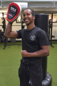 Alex Celcis as December 2018 Club Fit Briarcliff Trainer of the Month